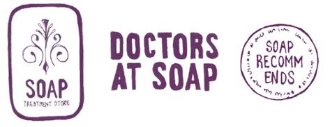 Doctors at soap