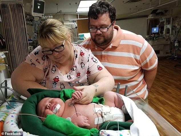 Reuzenbaby geboren in Texas